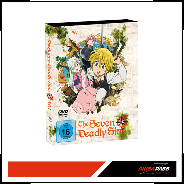 The Seven Deadly Sins - Vol. 1 (DVD)