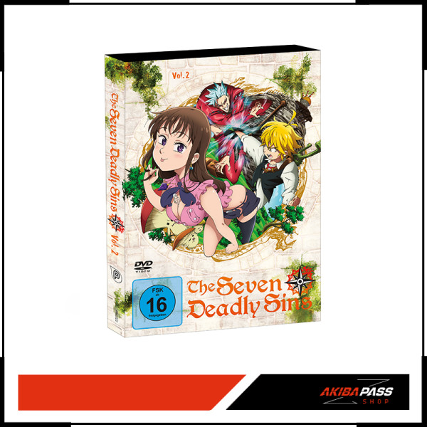 The Seven Deadly Sins - Vol. 2 (DVD)