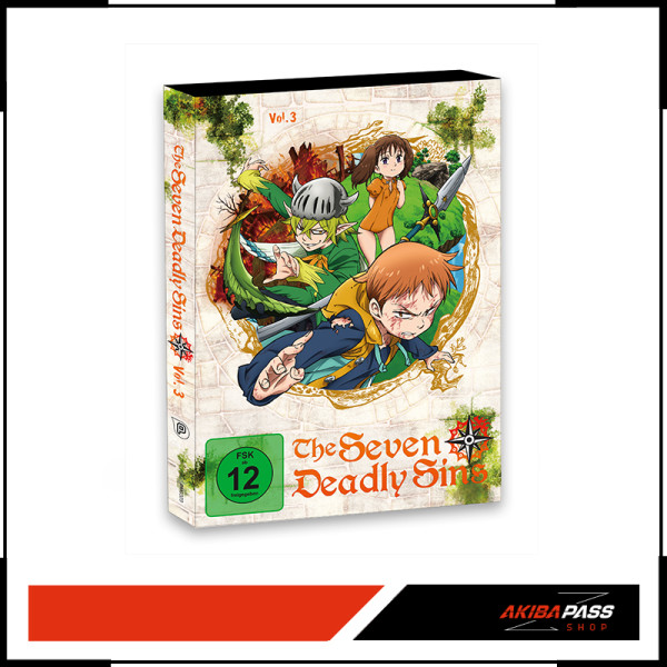 The Seven Deadly Sins - Vol. 3 (DVD)