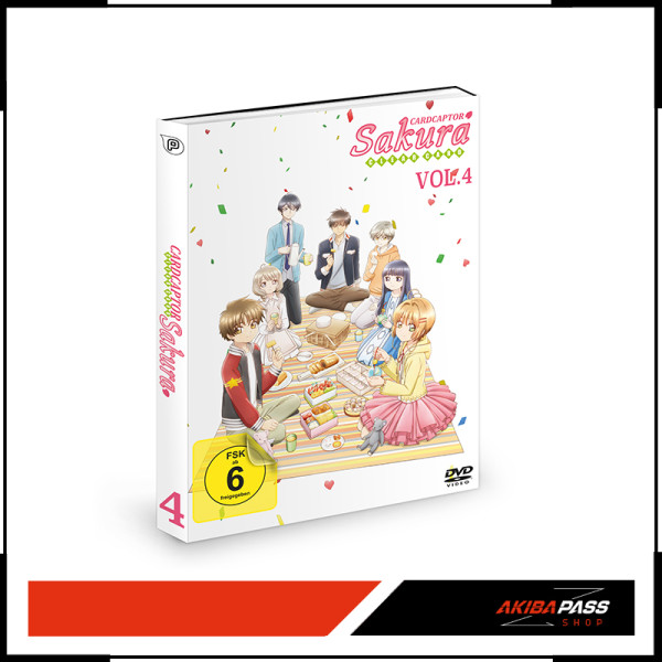 Cardcaptor Sakura: Clear Card - Vol. 4 (DVD)