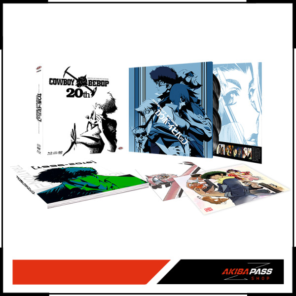 Cowboy Bebop - 20th Anniversary Komplettbox - White Vinyl - Blu-ray