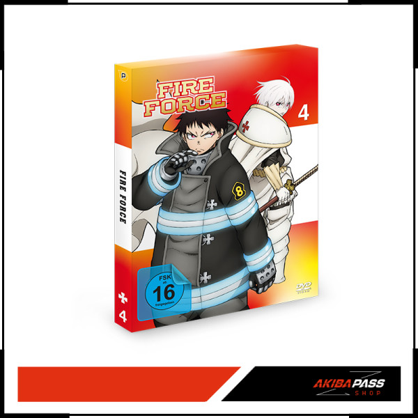 Fire Force - Vol. 4 (DVD)
