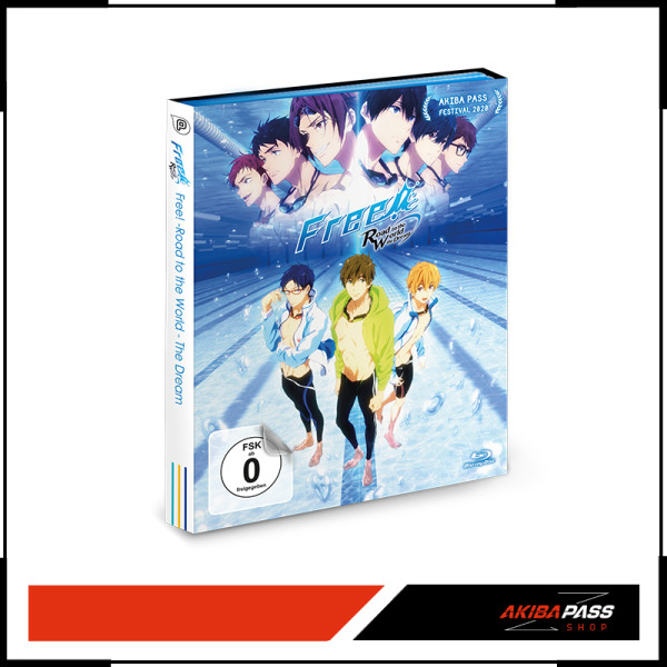 Free! Road to the World - the Dream (BD)