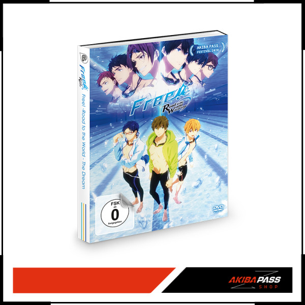 Free! Road to the World - the Dream (DVD)