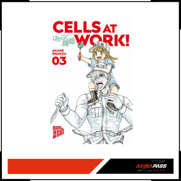 Cells at Work! 03 (Manga)