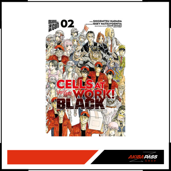 Cells at Work! Black 02 (Manga)