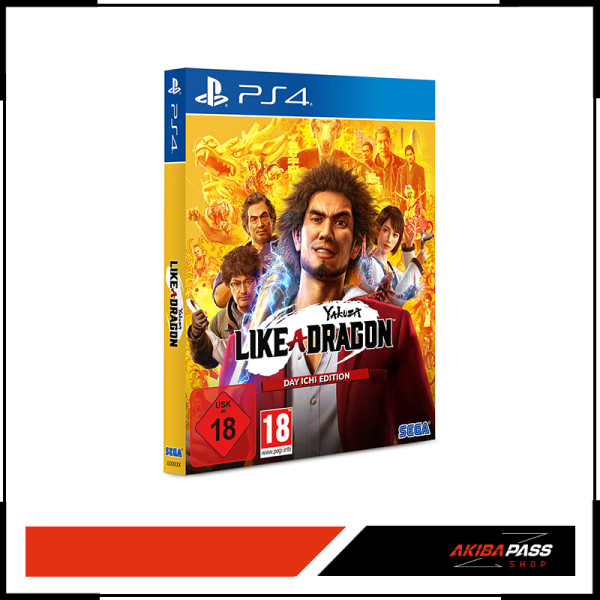 Yakuza 7: Like a Dragon - Day Ichi Edition (PS4)