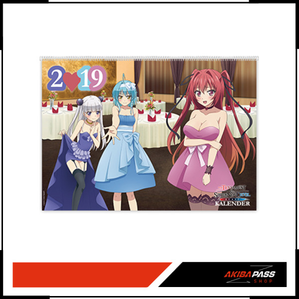 The Testament of Sister New Devil - Wandkalender 2019