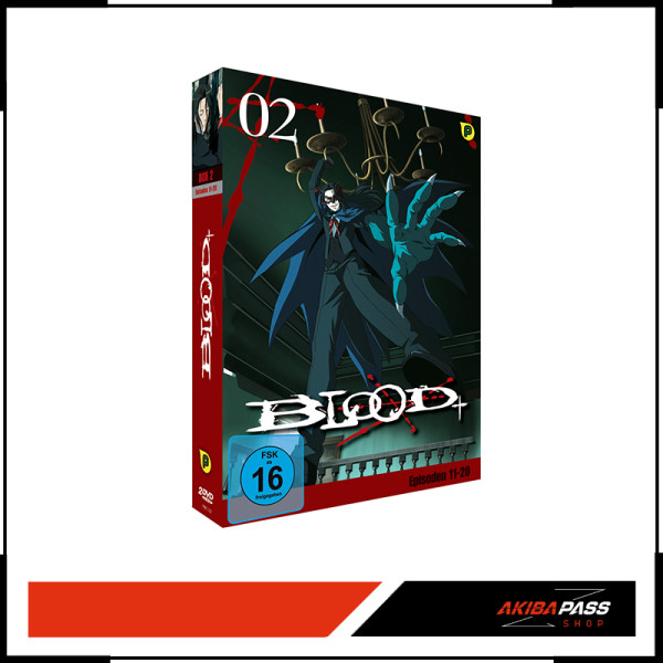 Blood + DVD Box 2